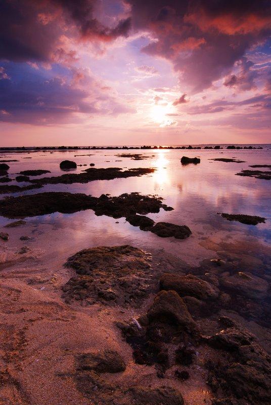 Potipot Island Sunset