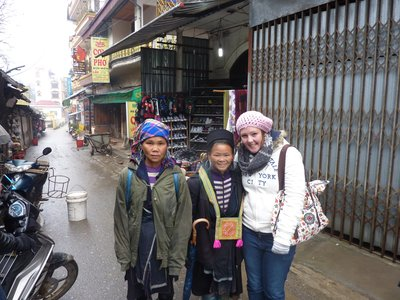 Me with the K'Mong people in Sapa