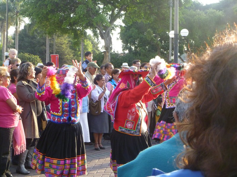 Cultural Dancing in Lima