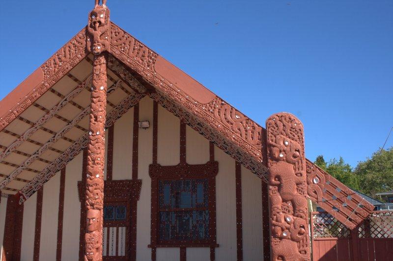Maori Meeting House in Rotorua