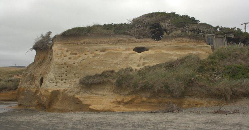 Gemstone Beach Cliffs