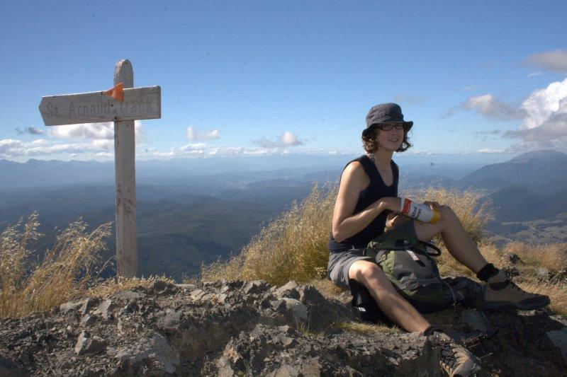 Ridge along St. Arnaud Range Track