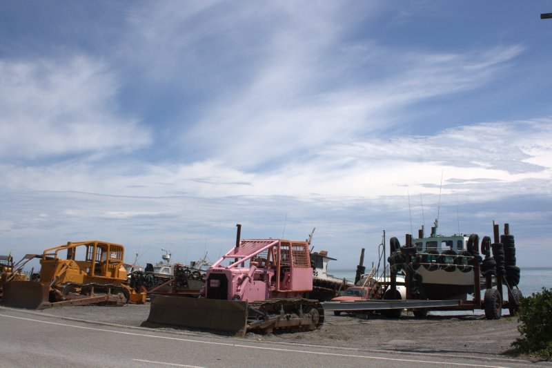 Bulldozers and Boats in Ngawi