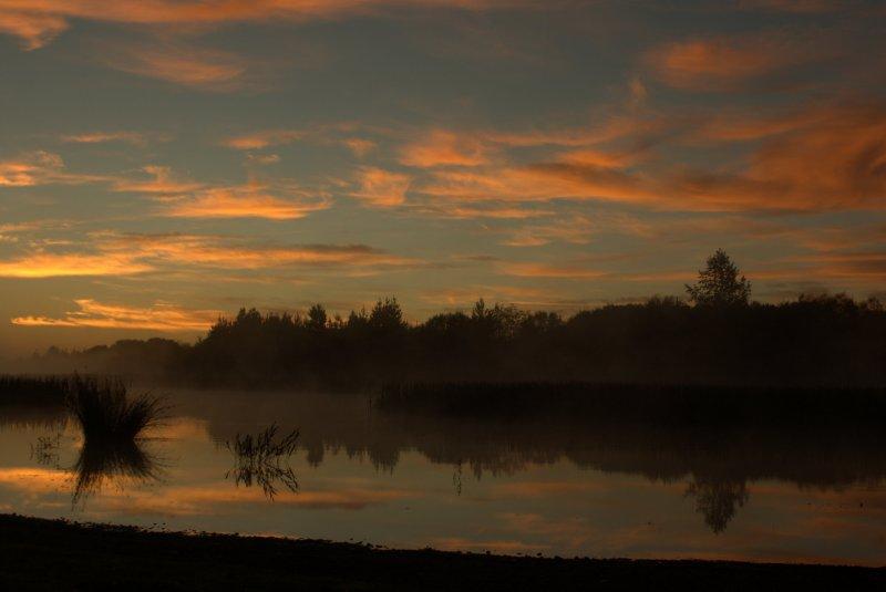 Sunrise at Lake Rerewhakaaitu