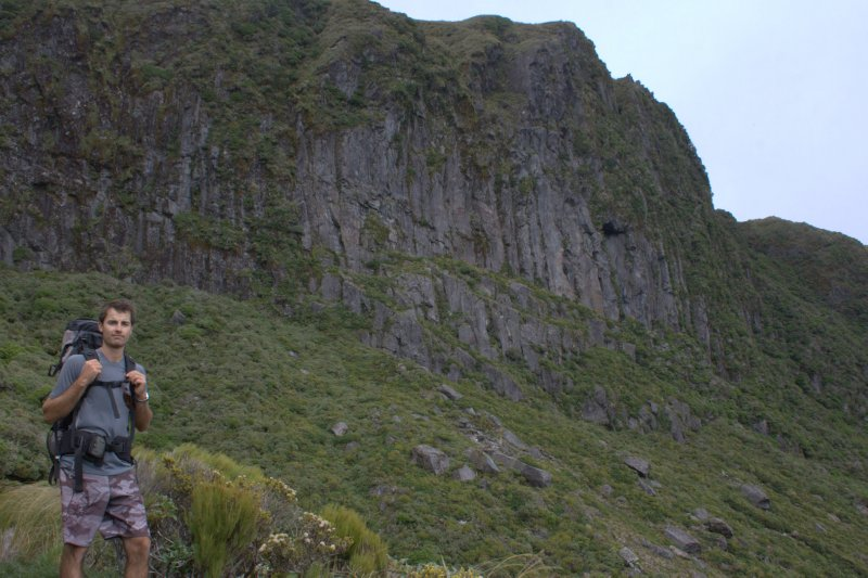 Dieffenbach Cliffs on Pouakai Circuit