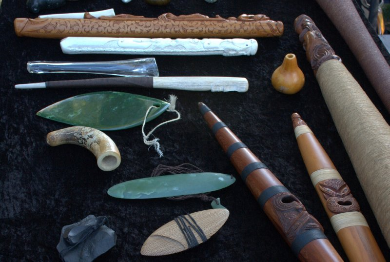 Ancient Maori Instruments