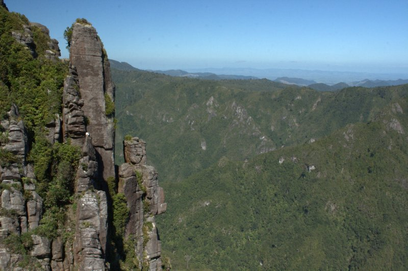 Looking South from The Pinnacles