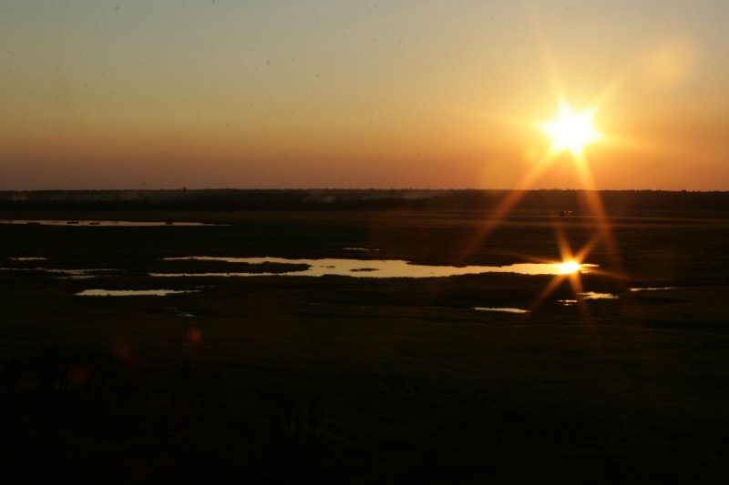 Ubirr - Nadab Floodplains at Sunset