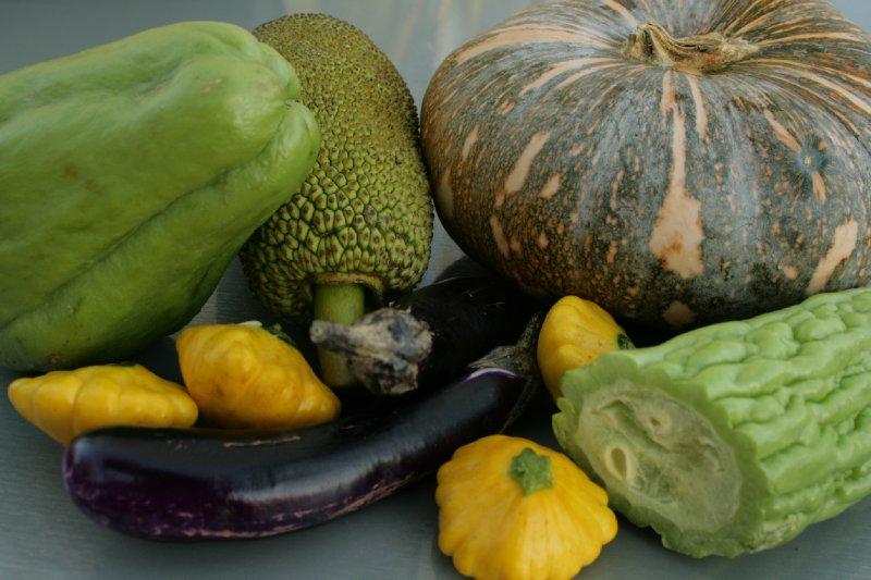Produce from Darwin's Farmer's Markets