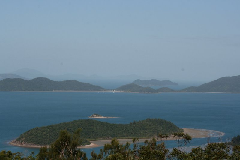 Whitsunday Islands from Mt. Roper Lookout