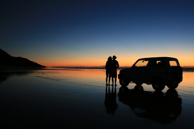 Sunrise from Corroboree Beach