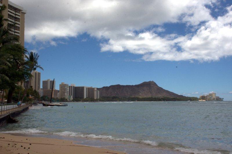 Diamond Head and Waikiki Beach