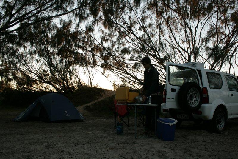 Govi Beach Campsite