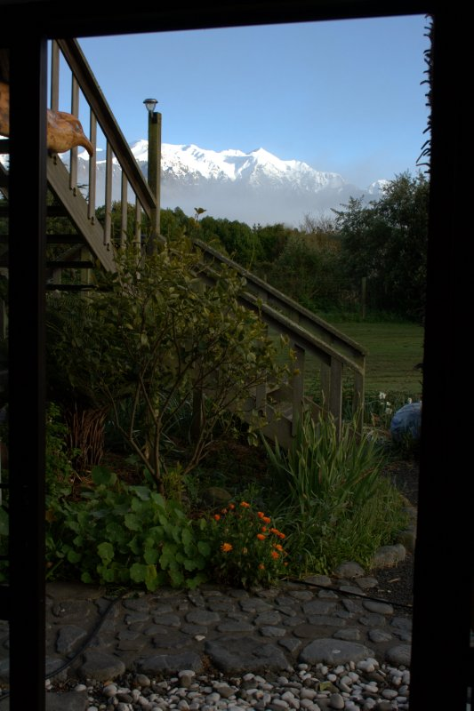 View From Our Room at Seaward Pottery