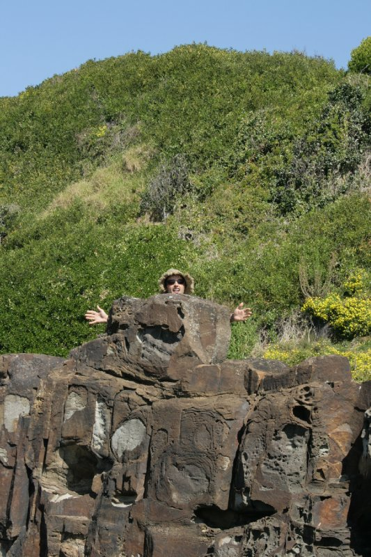 Rock Person at Iluka Reserve