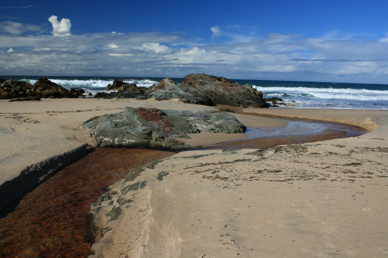 Kylies Beach in Crowdy Bay NP