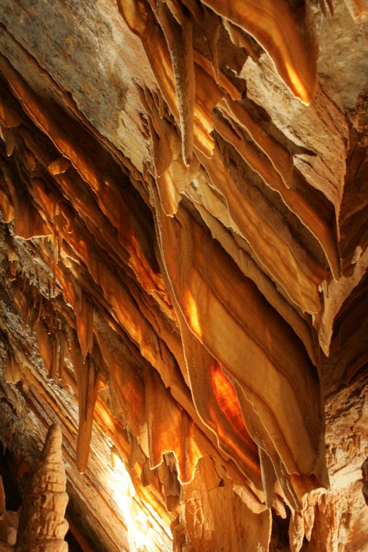 Shall Formation in Jenolan Caves