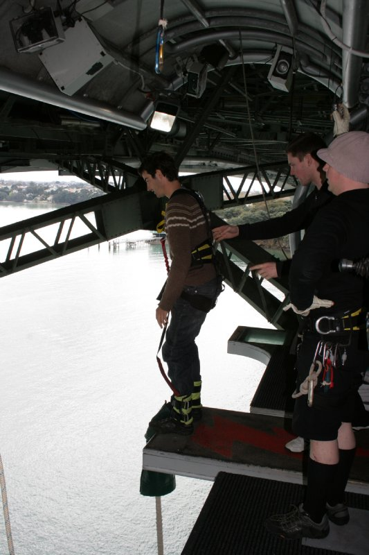 Auckland Bridge Bungy Jump