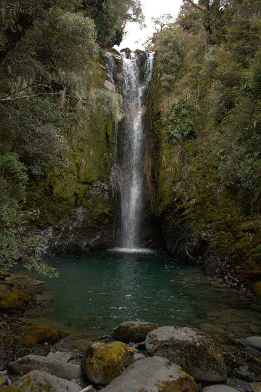 Waterfalls at Boulder Lake