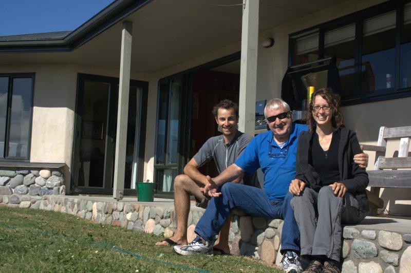 Nate, Reg, and Julie