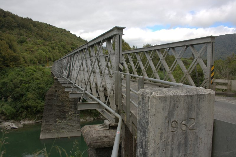Iron Bridge over Buller River