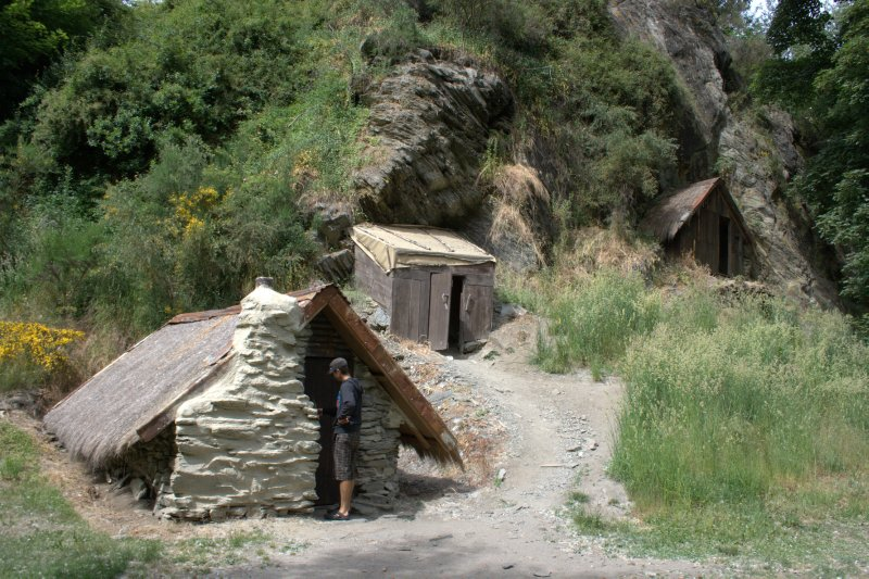 Homes in Historic Chinese Goldmining Settlement