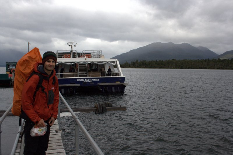 Boarding Boat to Start of Milford Track