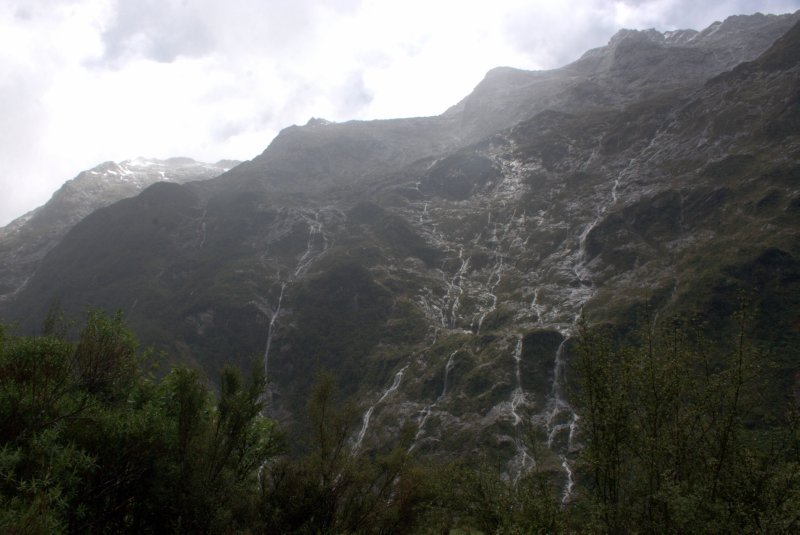 Clinton Valley Waterfalls into Hidden Lake