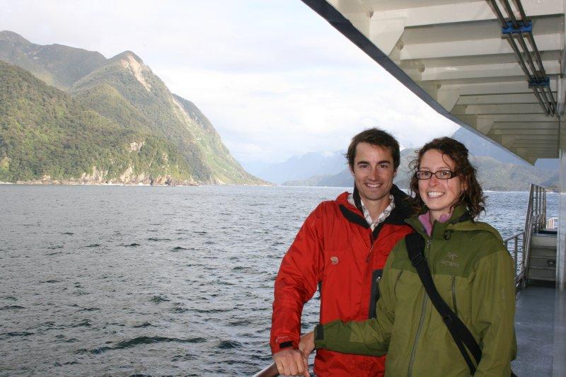 Near Tasman Sea in Doubtful Sound