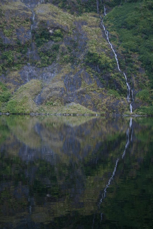 Waterfall in Hall Arm - Doubtful Sound