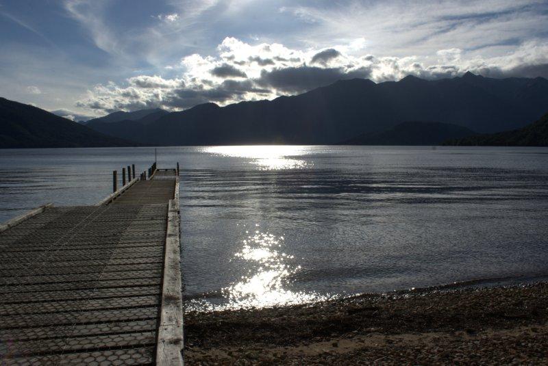 Chilling on Lake Hauroko