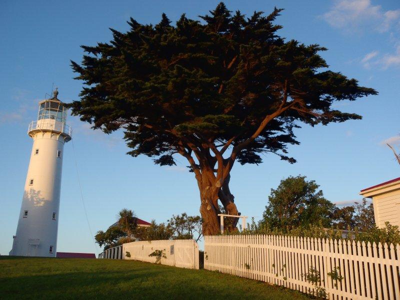 Lighthouse and Historic Farm House
