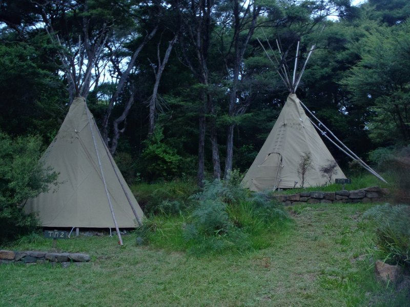 Teepees at Solscape
