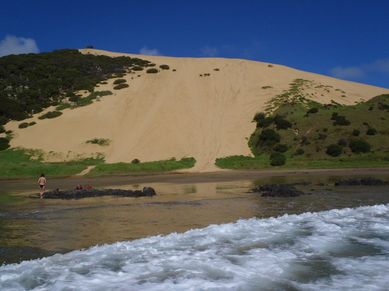 Sand Dunes at TePouahi Reserve