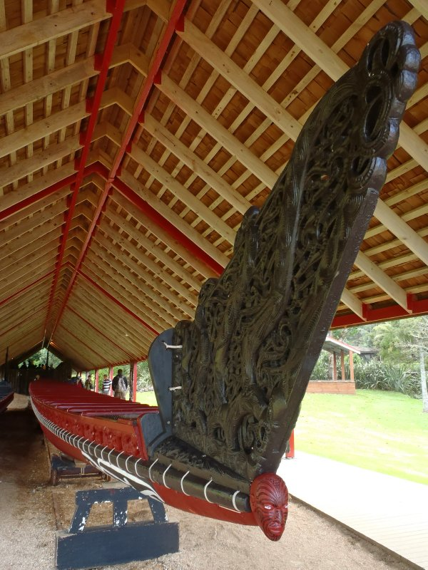 Waka Taua (War Canoe)