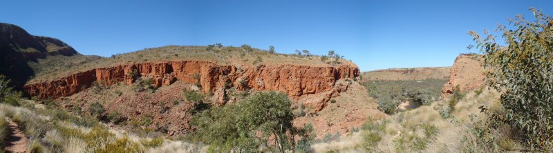 Red Gorge Walls of Ormiston Gorge