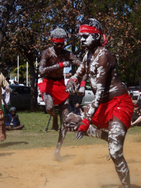 Aboriginal Dance at Barunga Festival