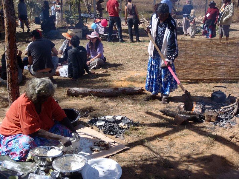 Making Damper on Hot Coals