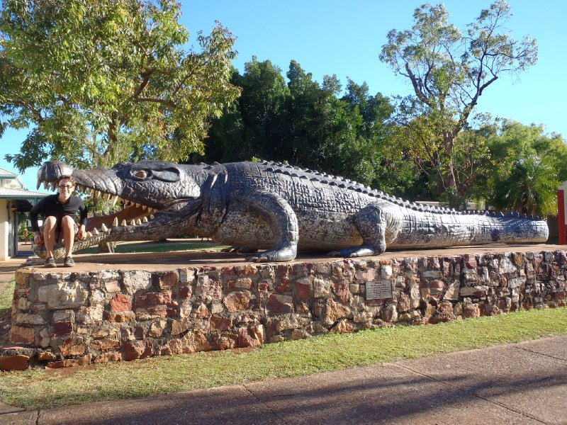 Worlds Largest Saltwater Croc