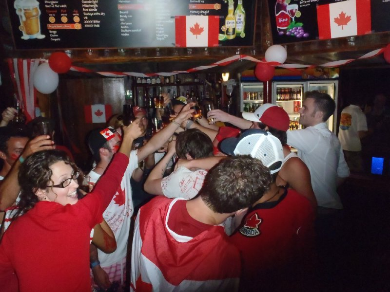 Canada Day at Dougies