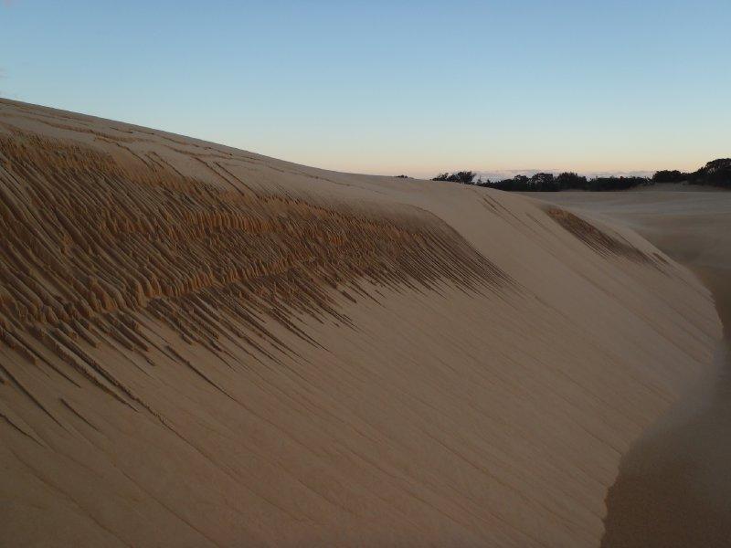 Sandy Patterns on Wungul Sandblow