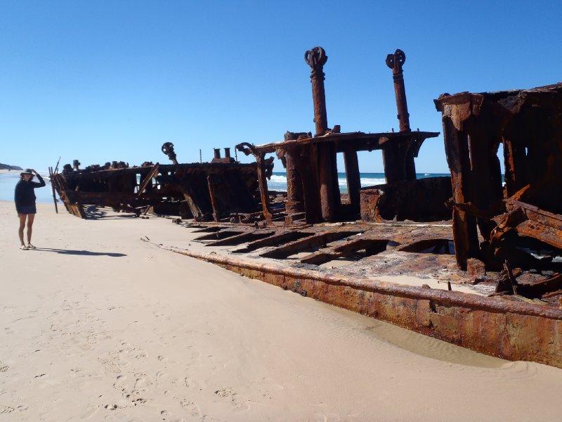 Julie and Maheno Shipwreck