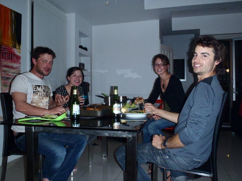 Lamb Dinner with Dan and Trish