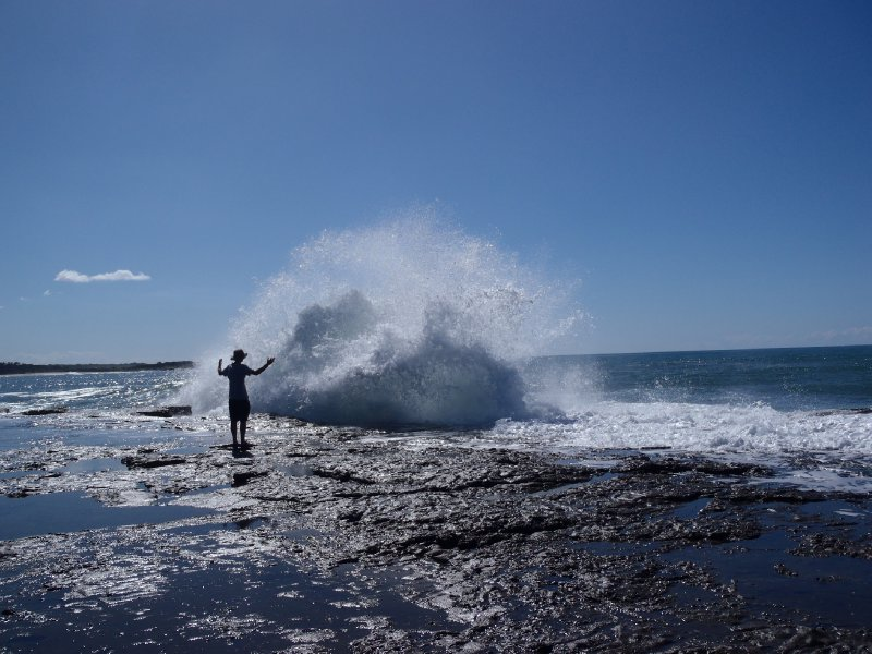 Wave Conducting at Iluka