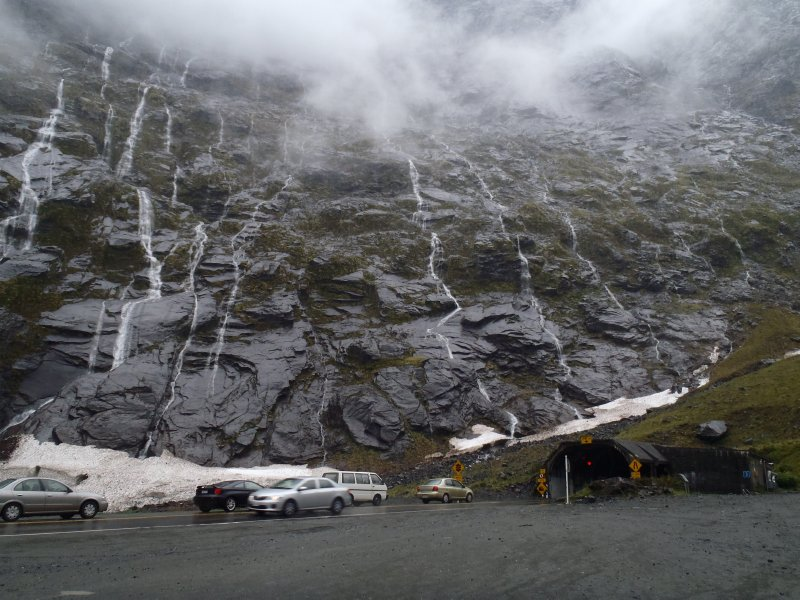 Homer Tunnel to Milford Sound