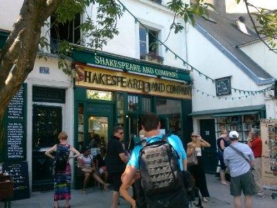 Shakespeare & Co bookstore