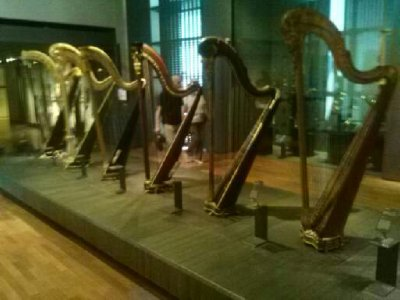 Highlights from Cite de Musique museum - harps w/ pedals