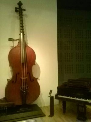 Highlights from Cite de Musique museum - huuuggge upright