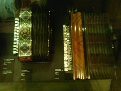 Highlights from Cite de Musique museum - accordions