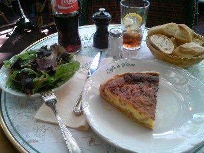 Lunch at Cafe de Flor